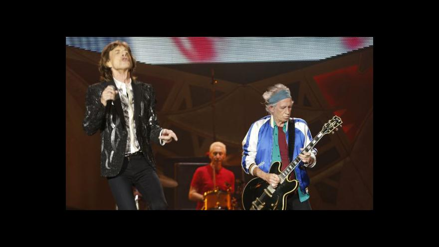 Video Kapela Rolling Stones obnovila turné