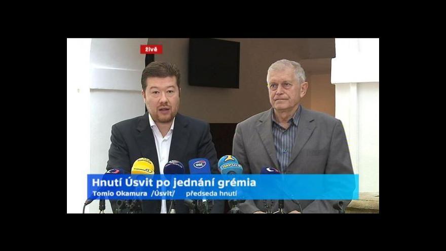 Video Úsvit bude v komunálních volbách prosazovat přímou volbu starostů