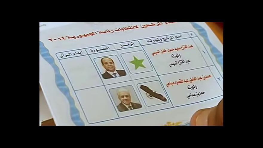 Video V Egyptě končí první kolo prezidentských voleb