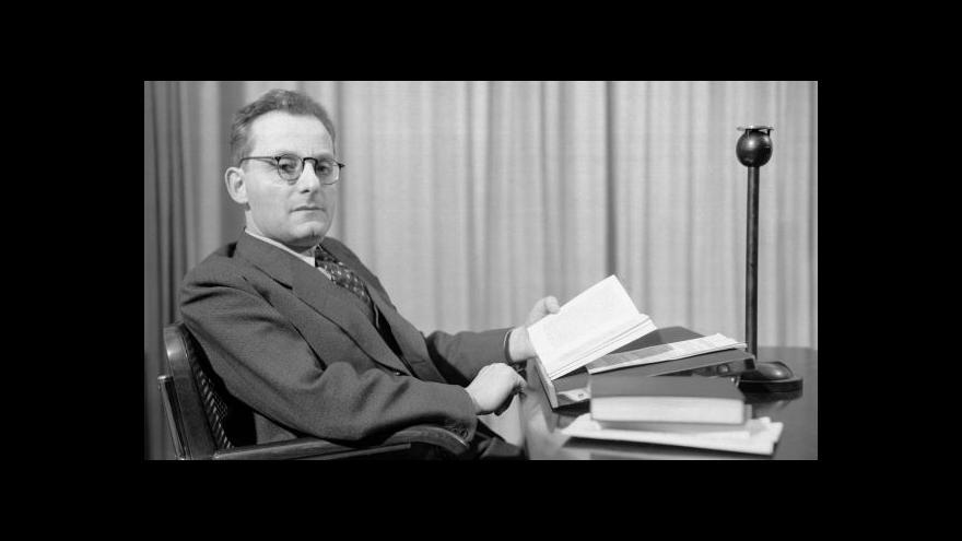 Video Před 130 lety se narodil Max Brod