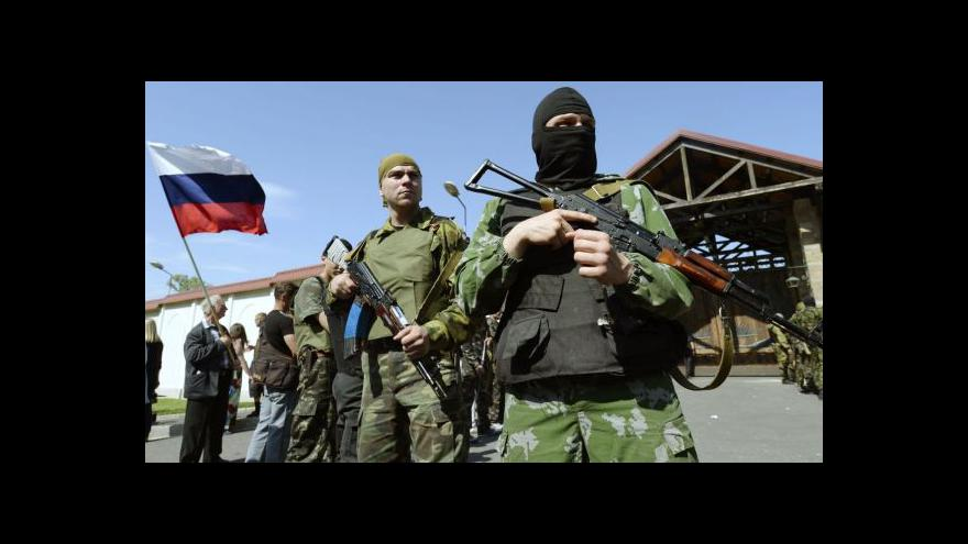 Video Ukrajinská armáda dobyla zpět doněcké letiště