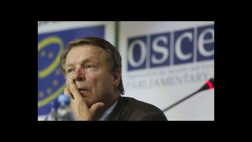 Video OBSE ztratila kontakt s týmem v Doněcku