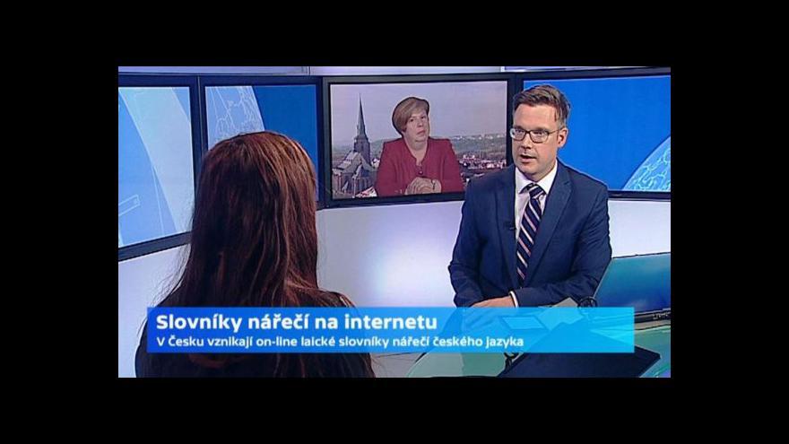 Video On-line slovník plzeňštiny ve Studiu 6