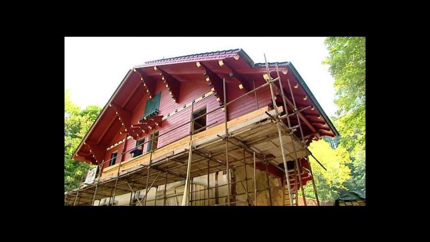 Video Löschnerův pavilon v novém