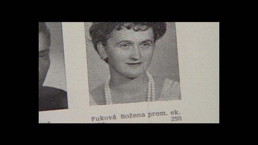 Video Krieglova cena pro Boženu Fukovou
