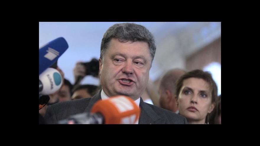 Video Porošenko: Byly to nejdemokratičtější volby v historii Ukrajiny