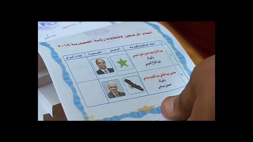 Video Egypt má za sebou první den prezidentských voleb