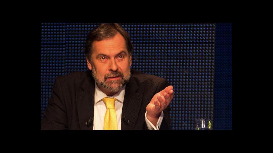 Video Radek John: Euroskeptik volit nešel, přijde utahování šroubů z Bruselu