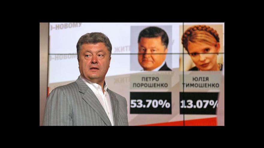 Video Porošenko má předpoklady, aby vyvedl Ukrajinu z krize