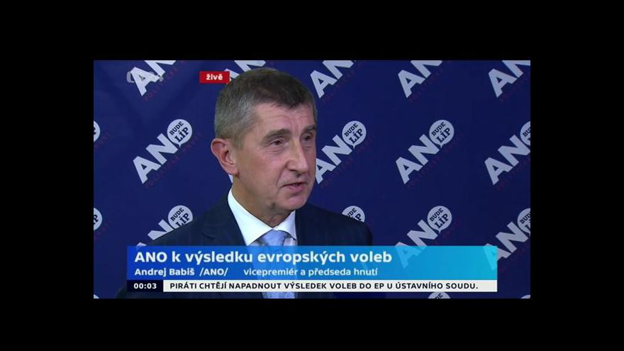 Video Babiš: Koaliční partneři snad uznají Teličku jako nejlepšího