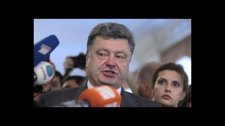 Video Horizont: Výhrůžky na východě a vítěz Porošenko