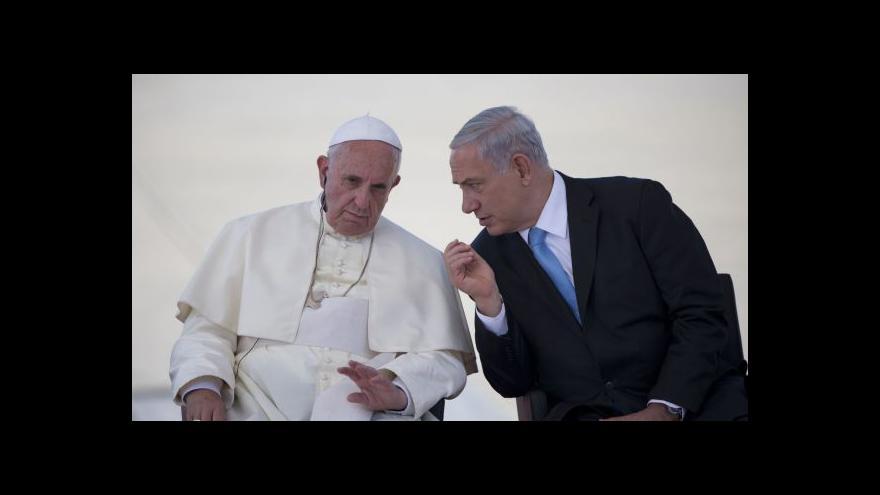 Video Szántó: Papež se snaží nedostávat na tenký led