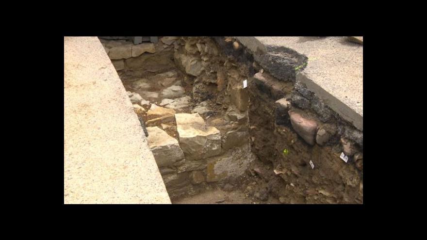 Video V Chrudimi odhalují středověkou pevnost