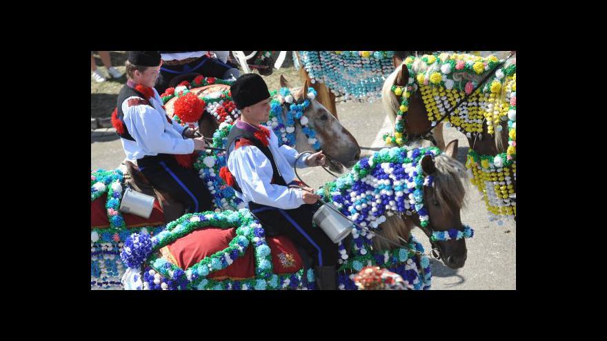 Video NO COMMENT: Jízda králů v Kunovicích