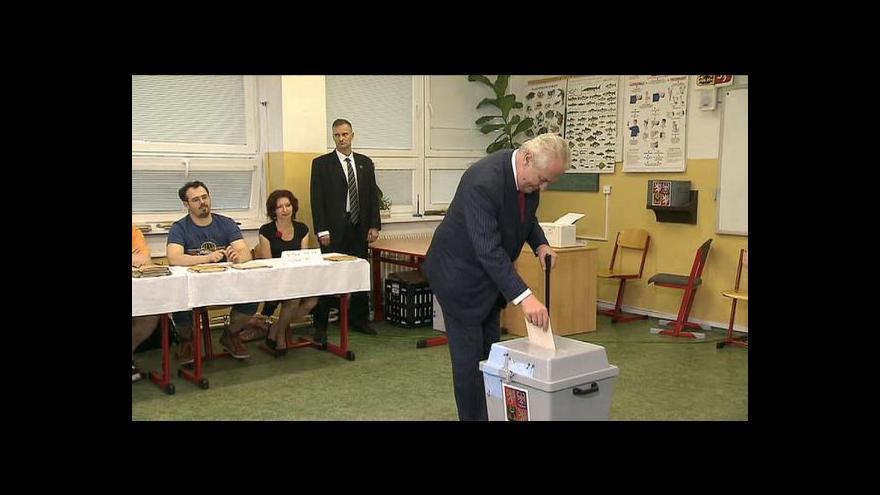 Video Zeman pro ČT: Vítěz voleb má právo jmenovat eurokomisaře