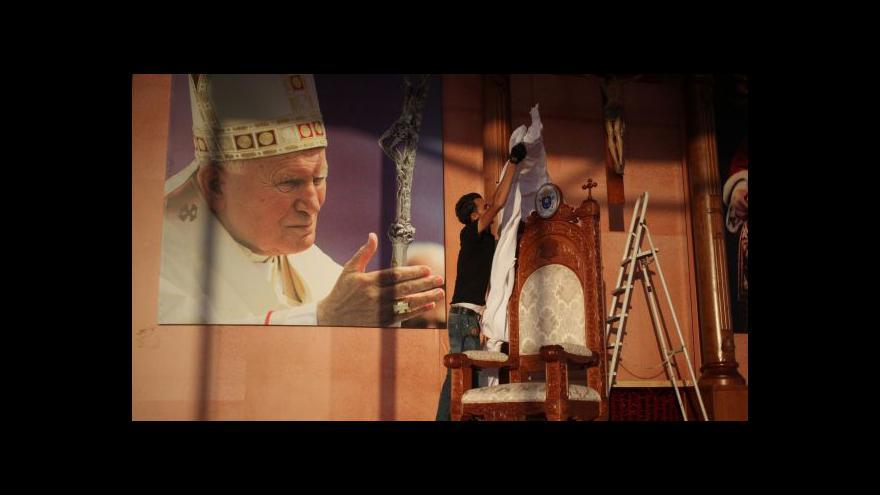Video Szántó o krátké návštěvě Izraele: Papež nerad cestuje