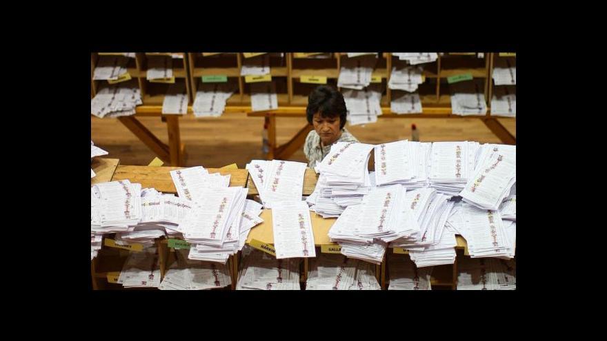 Video Eurovolby v Německu a Francii podle zpravodajů ČT