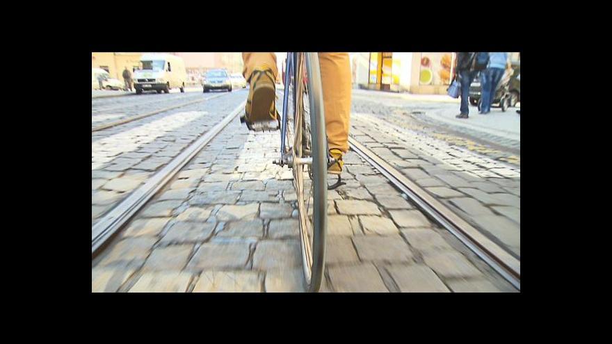 Video Podmínky pro cyklisty ve městech se postupně zlepšují