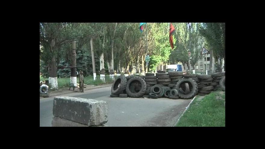 Video Karas: Nelze říct, že by separatisté měli na východě převahu