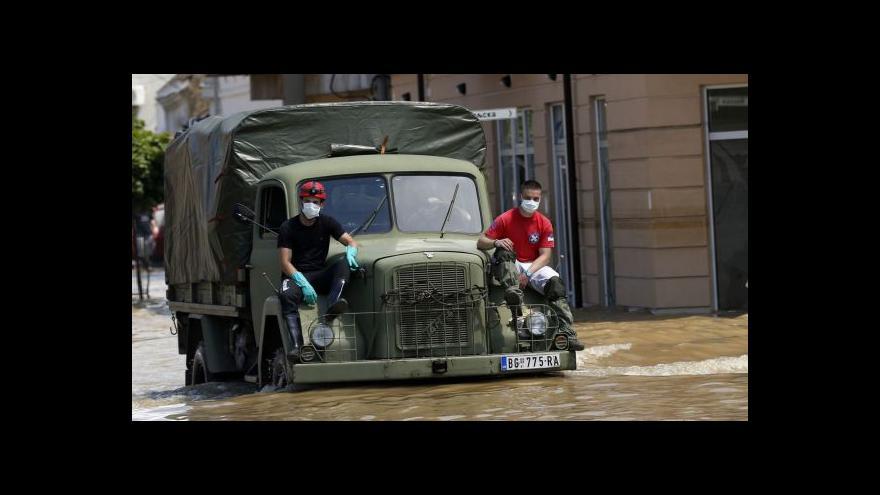 Video Při povodních na Balkáně zahynulo na 60 lidí