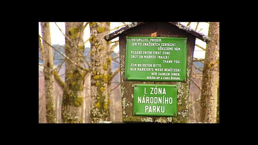 Video Šumavské obce vyrazily do boje proti plánům ministerstva