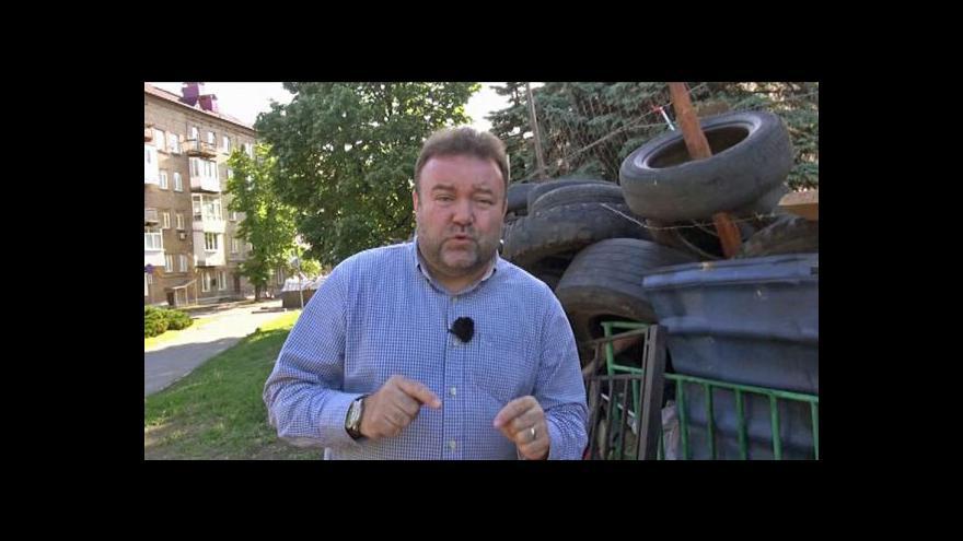 Video V Doněcku blížícím se volbám nic nenasvědčuje