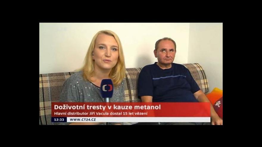 Video Oběť meatanolové aféry: Tresty měly být vyšší, viníkům by přál doživotí