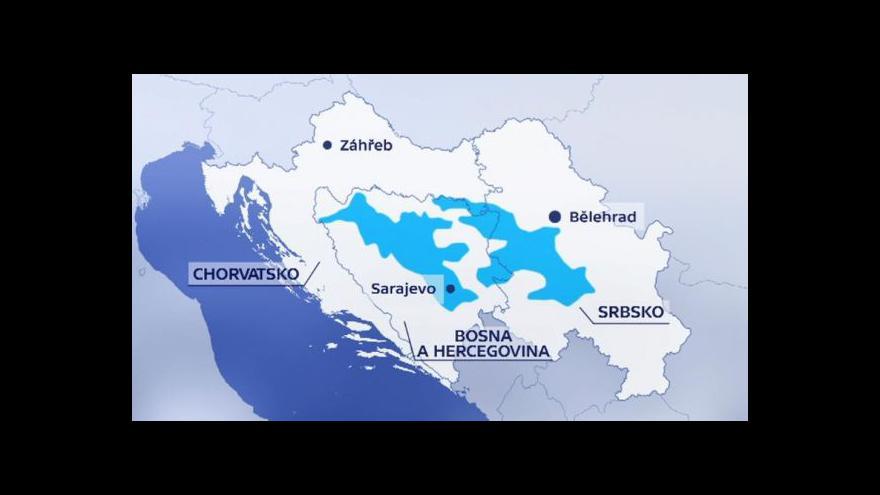 Video Povodně vyplavily v Bosně miny