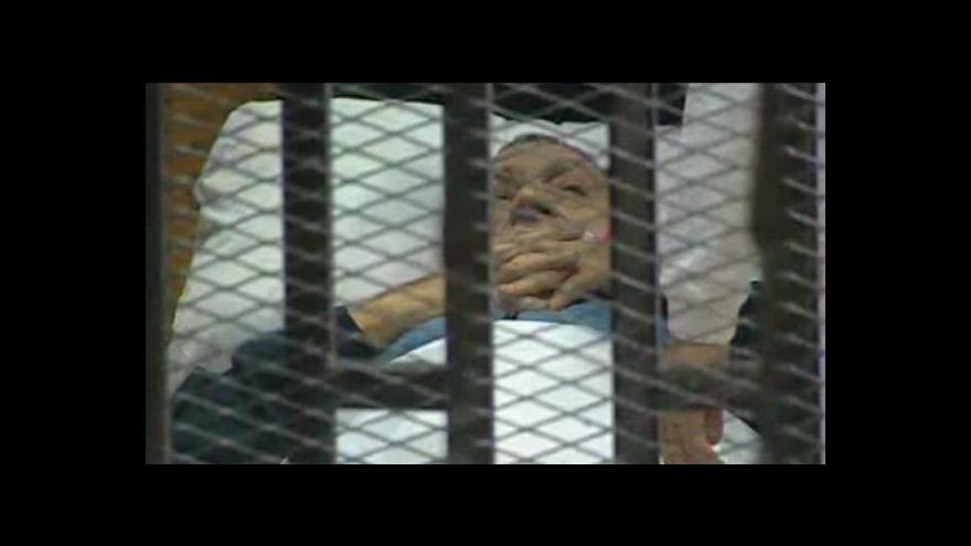 Video Mubarak si z veřejných peněz stavěl vlastní paláce