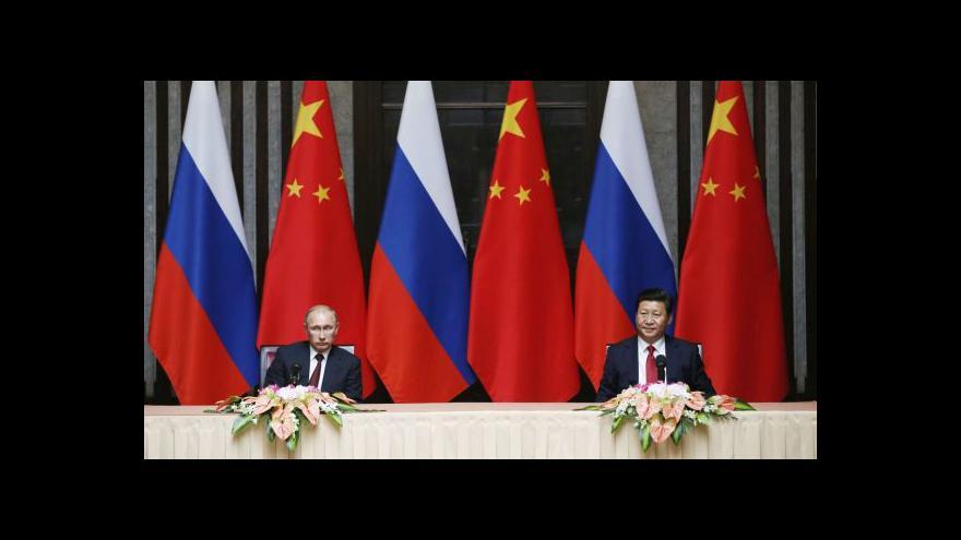 Video Události, komentáře: Putin v Číně zatím smlouvu o plynu nevyjednal