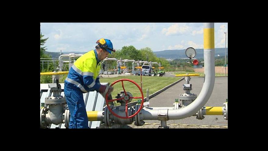 Video Česko má zásobu zemního plynu na 100 dní, potvrdil Sobotka