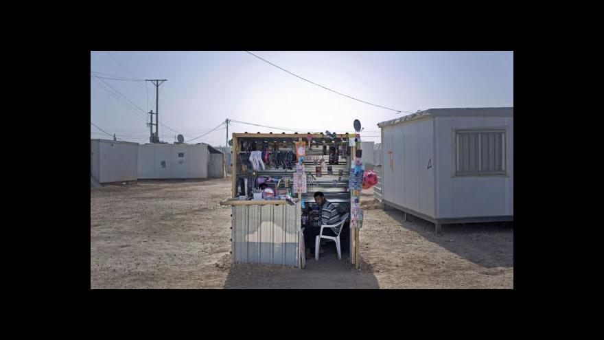 Video Jak žijí syrští uprchlíci v jordánském Zaatarí?
