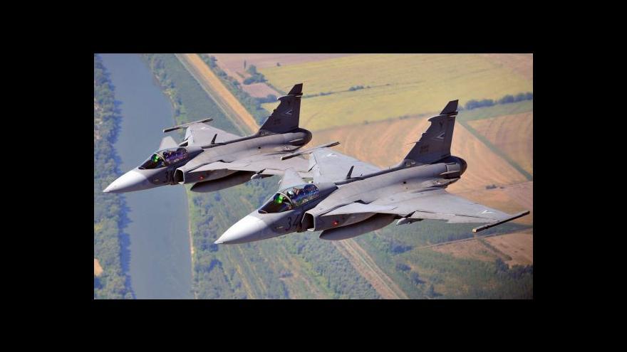 Video NATO zatím nepotřebuje české gripeny, aby strážily hranice s Ruskem