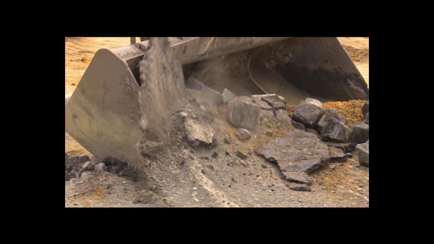Video V Raspenavě začala oprava silnice – čtyři roky po povodni