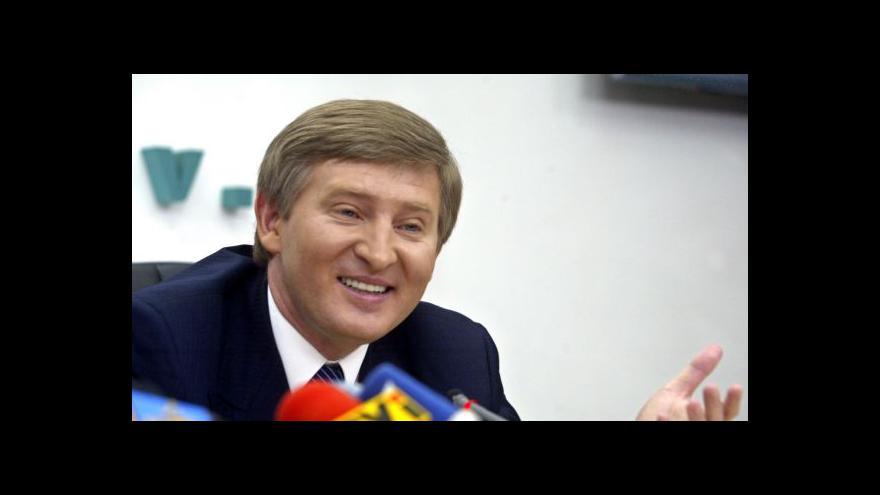 Video Horizont: Miliardář Achmetov se postavil proti separatistům