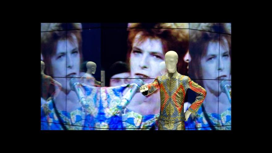 Video David Bowie v Berlíně