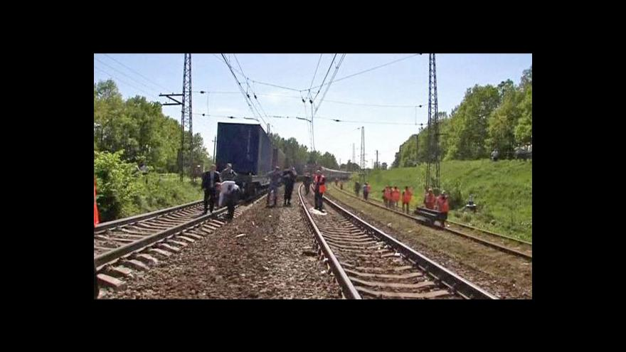 Video Jiří Just: Nehodu mohl způsobit uvolněný kontejner