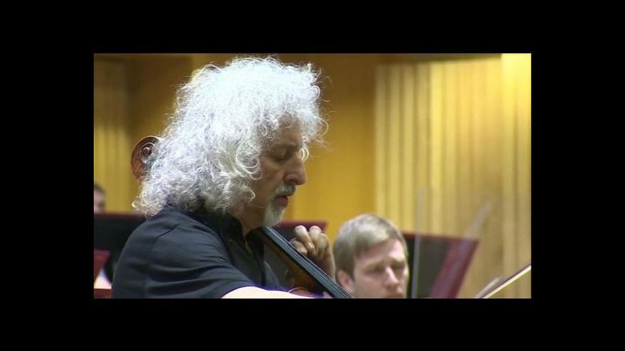 Video Na Dvořákově Olomouci zahraje špičkový violoncellista Maisky