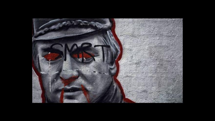 Video V Haagu pokračuje soud s Ratkem Mladičem