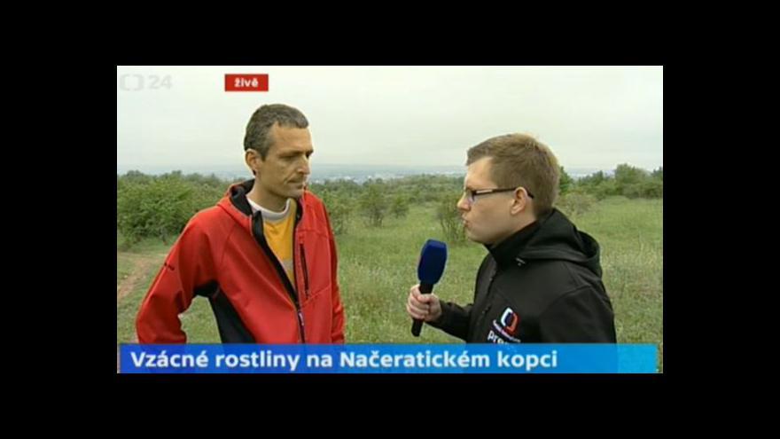 Video O biotopu na Načeratickém kopci s biologem Pavlem Marhoulem
