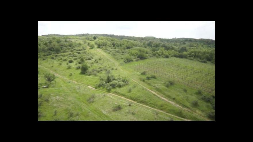 Video Pohled na Načeratický kopec z výšky