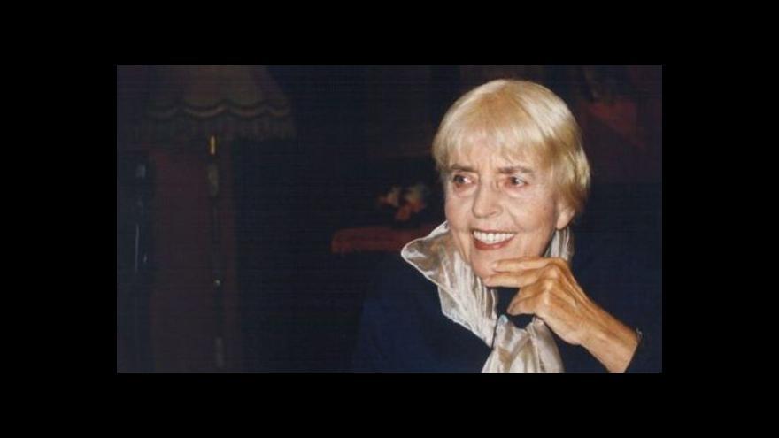Video Zemřela Adriena Šimotová