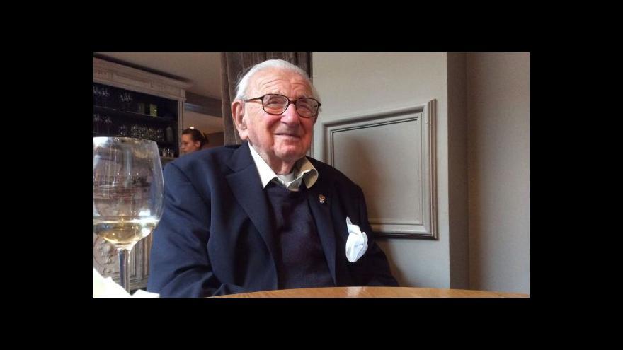 Video Nicholas Winton slaví 105. narozeniny