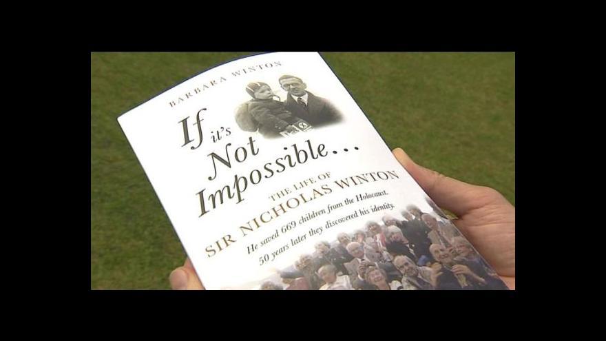 Video Barbara Wintonová napsala o svém otci knihu