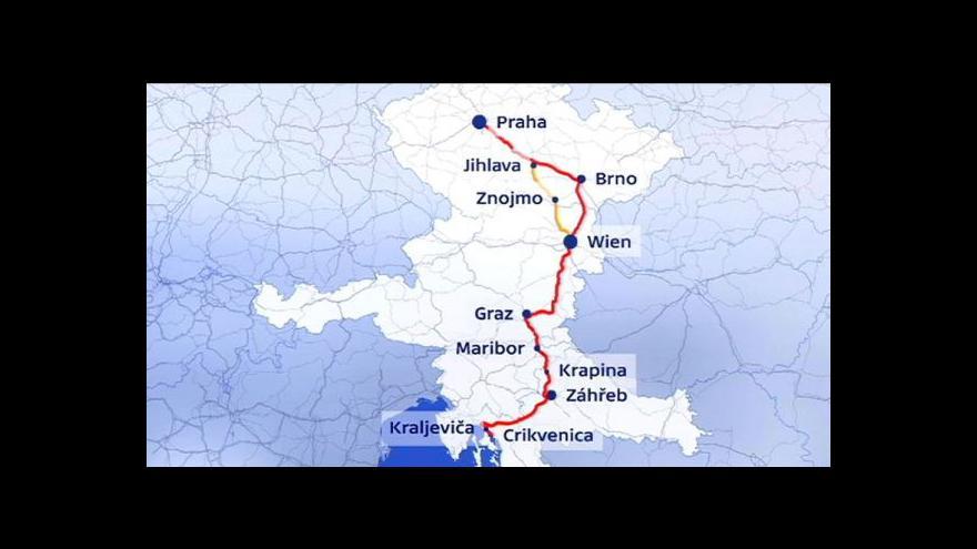 Video Češi se do Chorvatska k moři dostanou za 9 hodin