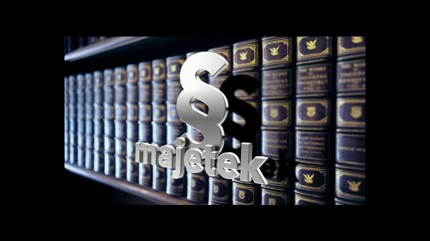 Video Hledá se podoba zákona o majetkovém přiznání