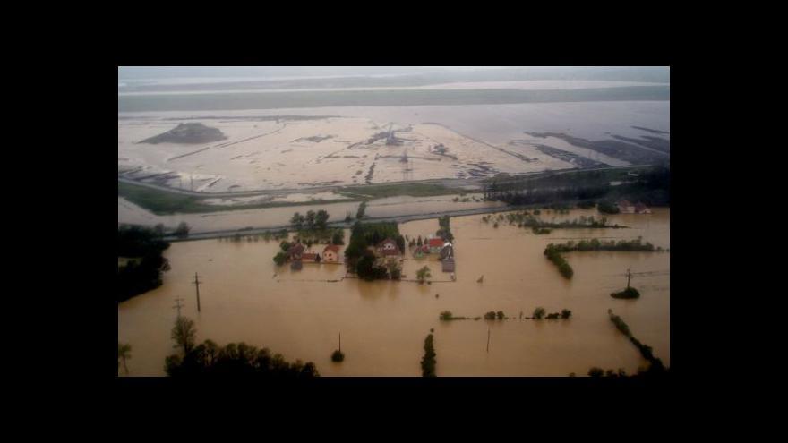 Video Jihovýchod Evropy bojuje se záplavami