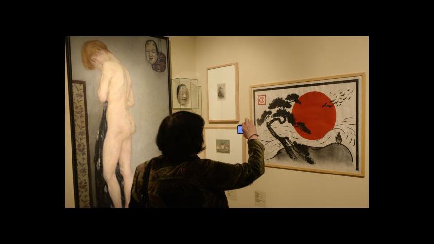 Video Japonsko v českém umění