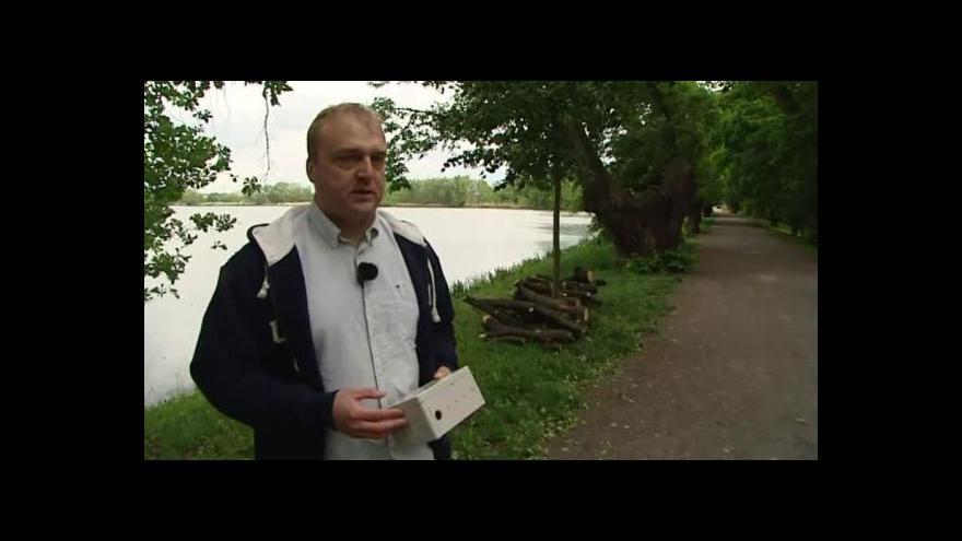 Video Štěpán Bechynský o novém systému monitorování vodních toků