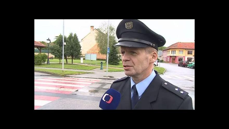 Video Policejní mluvčí Bohumil Malášek popisuje zranitelnost chodců